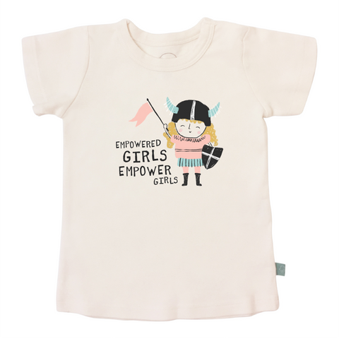 Finn + Emma Graphic Tee - Empowered Girls - Let Them Be Little, A Baby & Children's Boutique