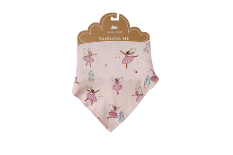 Angel Dear Bamboo Bandana Bib - Sugarplum Fairies