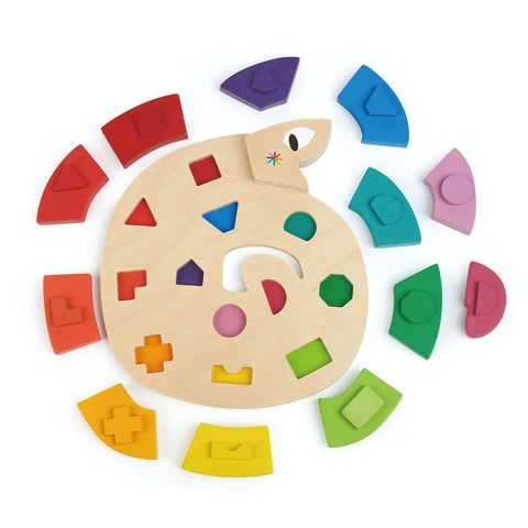 Tender Leaf Toys - Color Me Happy Puzzle
