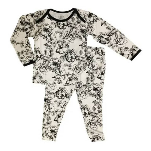 Peregrine Toddler Pajama Set - Floral - Let Them Be Little, A Baby & Children's Boutique
