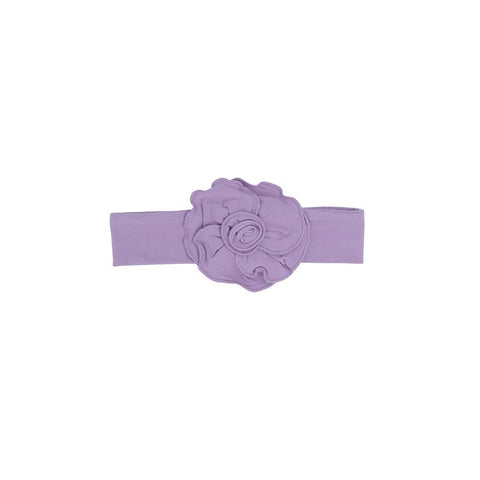 Sweet Bamboo Flower Headband - Lavender Mist - Let Them Be Little, A Baby & Children's Boutique