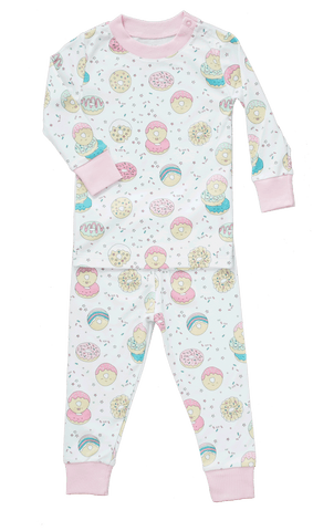 Baby Noomie 2 Piece PJ Set - Donuts - Let Them Be Little, A Baby & Children's Boutique