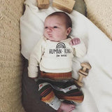 Tenth & Pine Long Sleeve Onesie - Human Kind