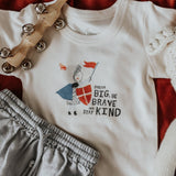 Finn + Emma Graphic Tee - Be Kind - Let Them Be Little, A Baby & Children's Boutique