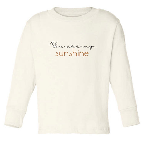 Tenth & Pine Long Sleeve Organic Tee - You are my Sunshine