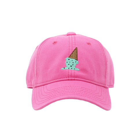 Harding Lane Kids Hat - Ice Cream on Bright Pink - Let Them Be Little, A Baby & Children's Boutique