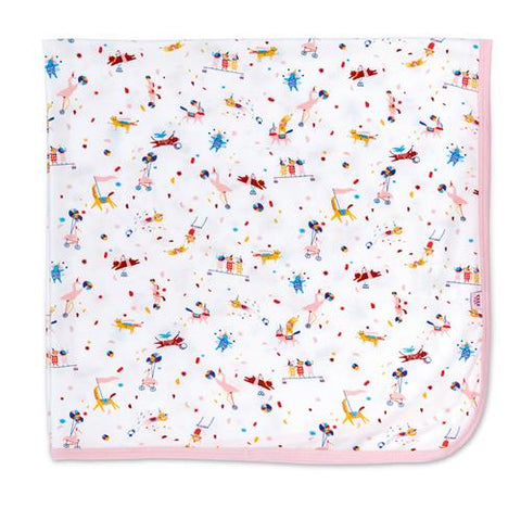 Magnetic Me Modal Swaddle - Pink Carnivale - Let Them Be Little, A Baby & Children's Boutique