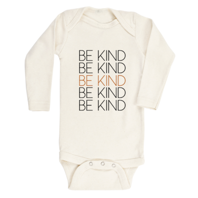 Tenth & Pine Long Sleeve Onesie - Be Kind