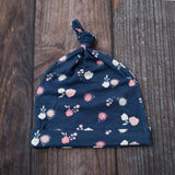 Bestaroo Knotted Hat - Navy Spring Bloom