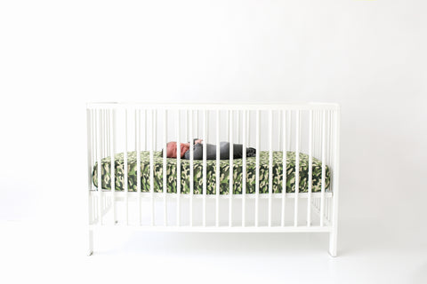 Posh Peanut Crib Sheet - Cadet - Let Them Be Little, A Baby & Children's Boutique