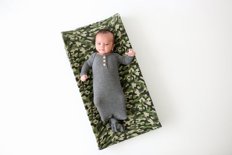 Posh Peanut Changing Pad Cover - Cadet - Let Them Be Little, A Baby & Children's Boutique