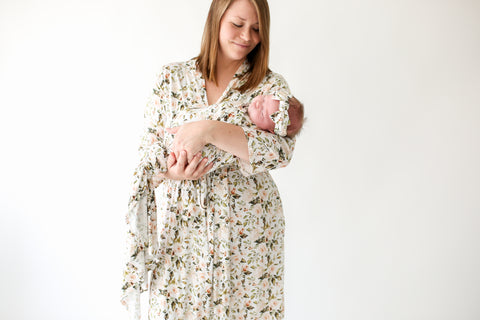 Posh Peanut Mommy Robe - Katherine
