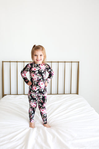 Posh Peanut Long Sleeve 2 Piece PJ Set - Milana