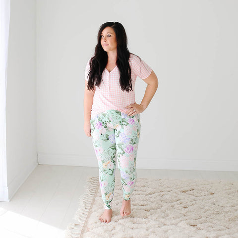 Posh Peanut Women's Short Sleeve Loungewear - Erin - Let Them Be Little, A Baby & Children's Boutique
