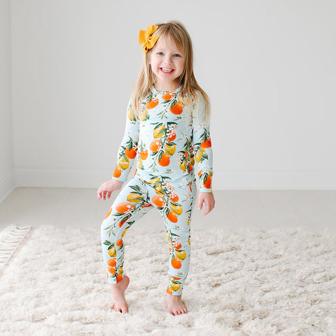 Posh Peanut Long Sleeve 2 Piece Loungewear Set - Mirabella - Let Them Be Little, A Baby & Children's Boutique