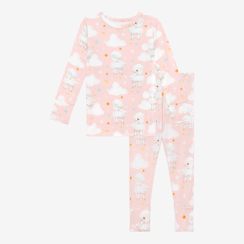 Posh Peanut Long Sleeve 2 Piece Loungewear Set - Mary - Let Them Be Little, A Baby & Children's Clothing Boutique