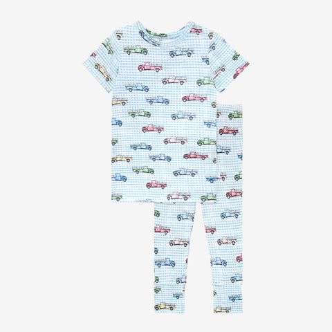 Posh Peanut Short Sleeve 2 Piece Loungewear PJ Set - Redford - Let Them Be Little, A Baby & Children's Clothing Boutique