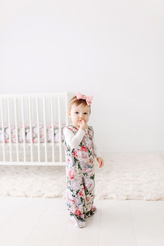 Posh Peanut Ruffled Sleep Bag 1.0 TOG - Cassie - Let Them Be Little, A Baby & Children's Boutique