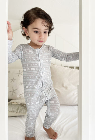 Bellabu Bear Convertible Footie - Polar Isle - Let Them Be Little, A Baby & Children's Boutique