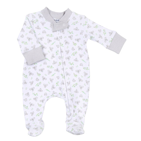 Magnolia Baby Printed Zipper Footie - Lil' Koala - Let Them Be Little, A Baby & Children's Clothing Boutique