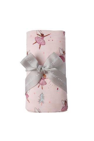 Angel Dear Bamboo Swaddle Blanket - Sugarplum Fairies