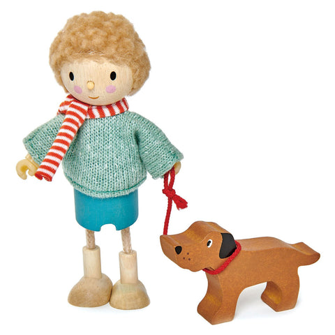 Tender Leaf Toys - Mr. Goodwood & His Dog - Let Them Be Little, A Baby & Children's Boutique