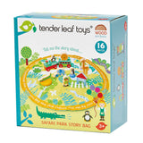 Tender Leaf Toys - Safari Park Story Bag