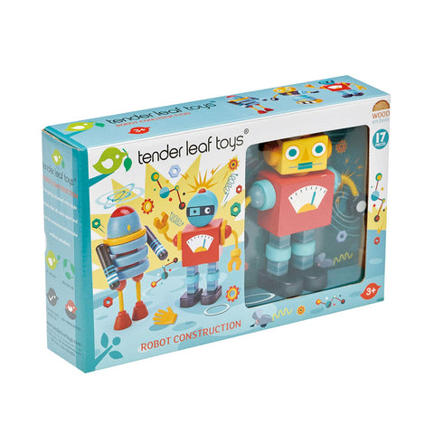 Tender Leaf Toys - Robot Construction - Let Them Be Little, A Baby & Children's Boutique