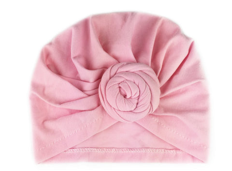 Baby Wisp Infant Turban Knot Hat - Light Pink