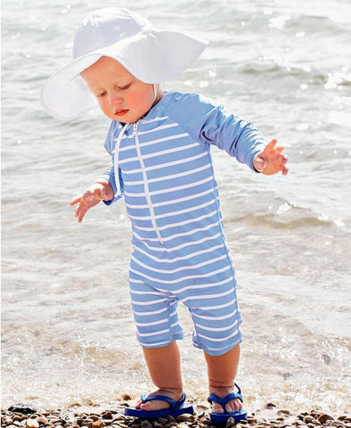 RuggedButts Sun Protective Hat - White - Let Them Be Little, A Baby & Children's Boutique
