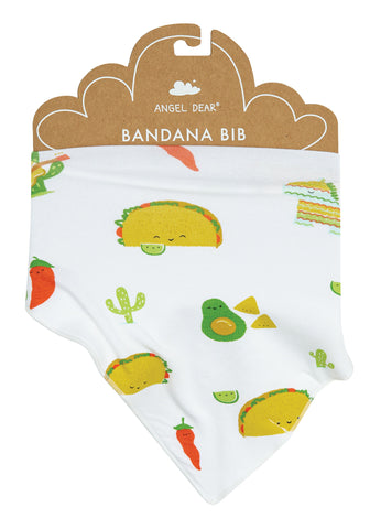 Angel Dear Bamboo Bandana Bib - Taco Party