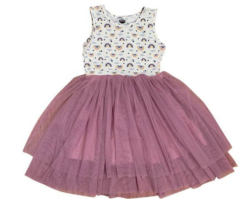 Bird & Bean Tutu Tank Dress - Rainbow - Let Them Be Little, A Baby & Children's Boutique