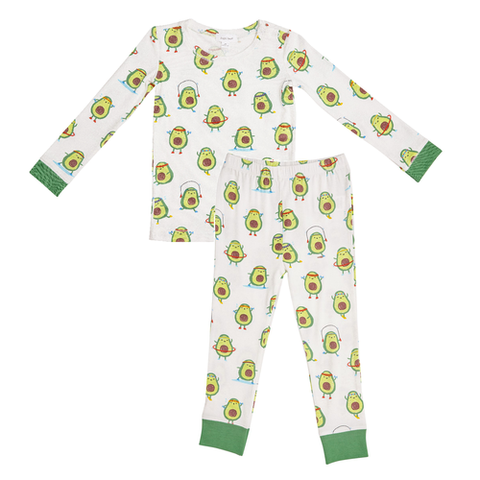 Angel Dear 2 Piece PJ Set - Avo-Cise - Let Them Be Little, A Baby & Children's Boutique