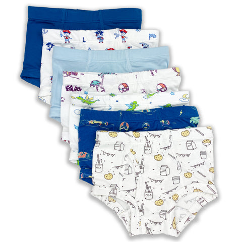 Bellabu Bear Boy's Underwear - Variety 7-pack - Let Them Be Little, A Baby & Children's Boutique
