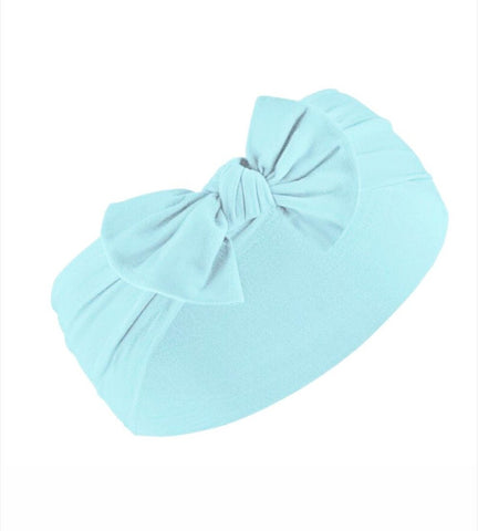 Poppy Knots Classic Bow - Sky Blue