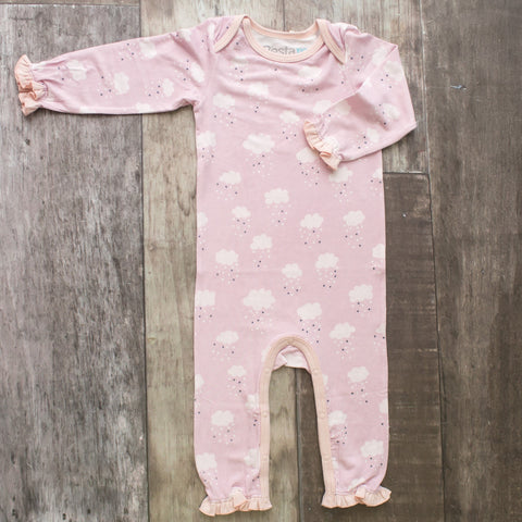 Bestaroo Coverall - Clouds Pink