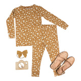 Brave Little Ones 2 Piece PJ Set - Floral - Let Them Be Little, A Baby & Children's Boutique