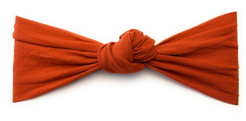 Baby Wisp Turban Knot - Pumpkin Spice - Let Them Be Little, A Baby & Children's Boutique
