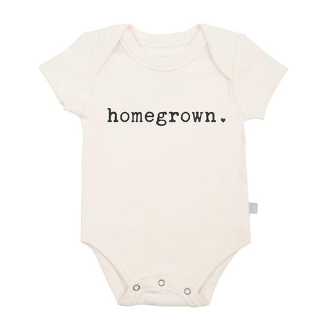Finn + Emma Graphic Onesie - Homegrown - Let Them Be Little, A Baby & Children's Boutique