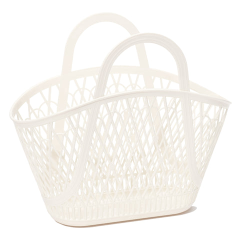 Sun Jellies Betty Basket - Cream - Let Them Be Little, A Baby & Children's Boutique
