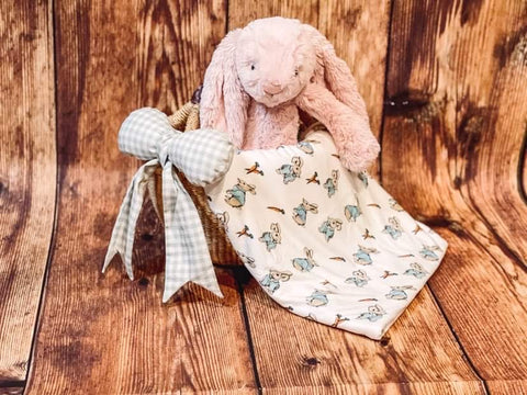 Two Peas Stroller Blanket - Benny Bunny - Let Them Be Little, A Baby & Children's Clothing Boutique