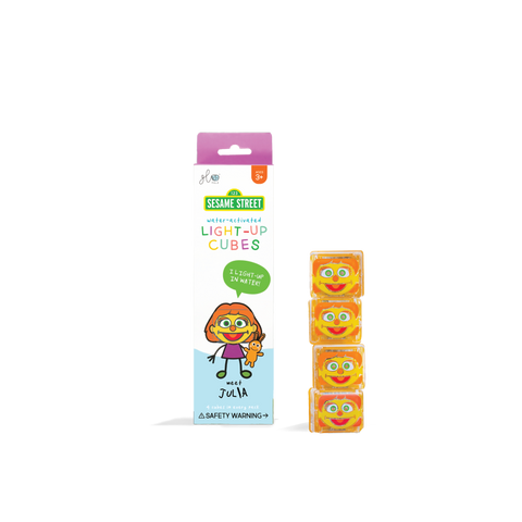 Glo Pals Light up Cubes - Sesame Street Julia - Let Them Be Little, A Baby & Children's Clothing Boutique