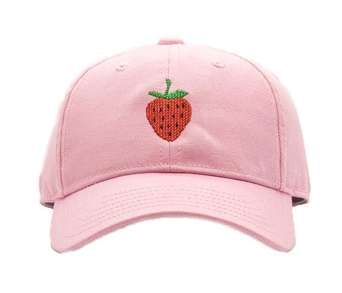 Harding Lane Kids Hat - Strawberry on Light Pink - Let Them Be Little, A Baby & Children's Clothing Boutique