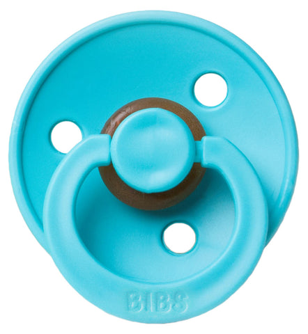 Bibs Pacifier - Turquoise - Let Them Be Little, A Baby & Children's Boutique