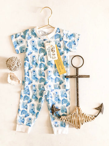 Velvet Fawn Two Piece Jammies - Awww Shucks!