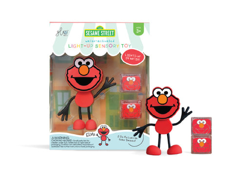 Glo Pals Character Set - Sesame Street Elmo - Let Them Be Little, A Baby & Children's Clothing Boutique