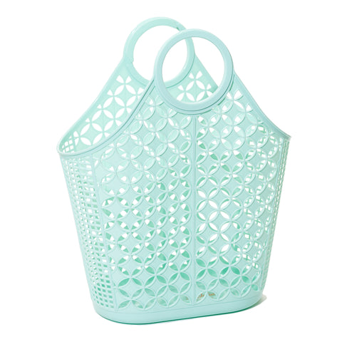Sun Jellies Atomic Tote - Mint - Let Them Be Little, A Baby & Children's Boutique