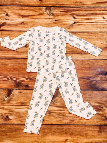 Two Peas 2 Piece PJ Set - Benny Bunny - Let Them Be Little, A Baby & Children's Clothing Boutique