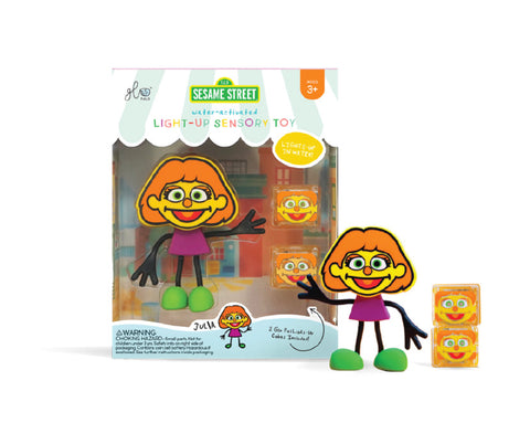 Glo Pals Character Set - Sesame Street Julia - Let Them Be Little, A Baby & Children's Clothing Boutique
