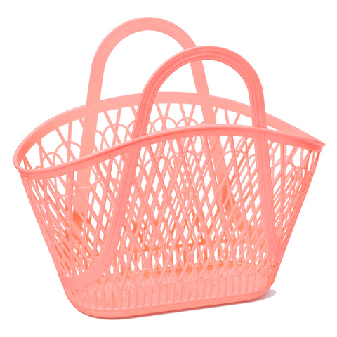 Sun Jellies Betty Basket - Peach - Let Them Be Little, A Baby & Children's Boutique